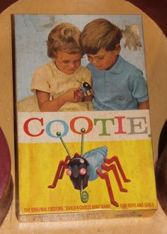 Vintage Cootie game