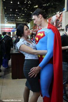 #Cosplay #Kryptonian: #Superman & Lois Lane - New York Comic Con 2011