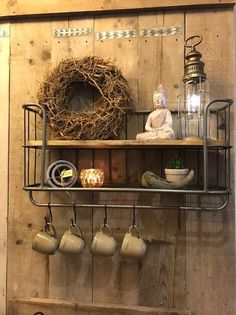Pool Houses, Decoration, Kitchen Gadgets, Furniture Makeover, Home And Living, Floating Shelves, Shelving, Rustic, Diy