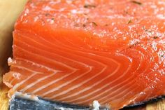 Gravlax (Swedish marinated salmon)  Maria Sorokina,   http://www.pinchofcinnamon.com/2013/01/gravlax-swedish-marinated-salmon.html