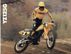 1980 Yamaha YZ125G.  Photo courtesy of Vintage Factory