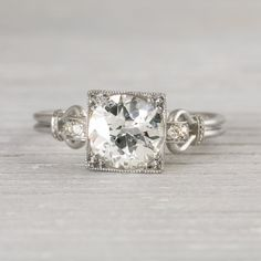 Image of 1.57 Carat Vintage Art Deco Engagement Ring WOW!!! Most beautiful ring I have ever seen!