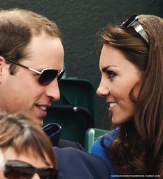 Wills and Kate...can't take their eyes off each other :)