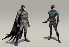Batman and Nightwing - Dan Mora