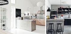 Cemento pulido en la cocina # El cemento es un material de tendencia y como tal, le hemos dedicado ya varias páginas en Decoora. Utilizando cemento pulido en el diseño de nuestra cocina, podemos lograr un espacio de características rústicas o …