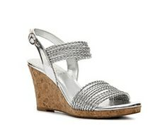 BCBG Paris Loran Wedge Sandal