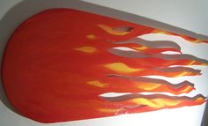 METEORA - 200 x 60 cm, legno, acrilico (wood, acrylic), 2009
