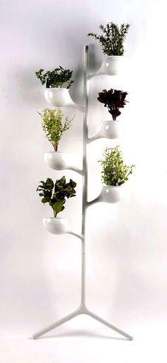 Herb garden tree planter / #furniture #home #decor