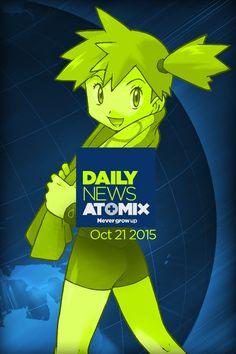 Sabías que Gimnasio Pokémon – #AtomixDailyNews [21/10/15]
