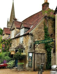 Tea time: Lacock, England