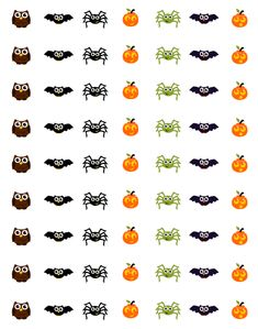 Cute for Halloween. Can use circle punch. Remember, this is for personal use only.