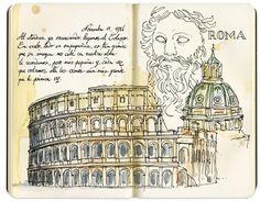 carnets de voyage Rome