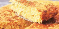 Tortilla de cebollas acarameladas