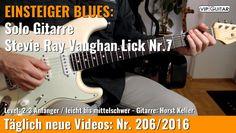 ✪ EINSTEIGER BLUES ►Stevie Ray Vaughan Lick Nr.7