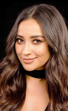 Shay Mitchell's shoot for AOL Build