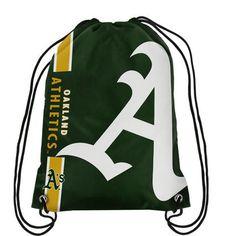 Oakland Athletics Big Logo Drawstring Backpack