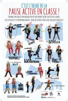 Brain Gym For Kids, Yoga For Kids, Exercise For Kids, Student Teacher, Best Teacher, Classroom Organisation, Classroom Management, Brain Gym Exercises, Commission Scolaire