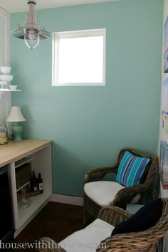 Sherwin Williams Aloe – New color for the house