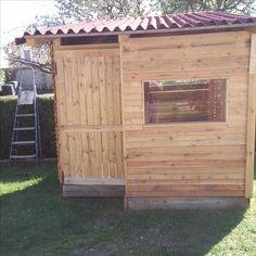 cabane enfants bois de palette