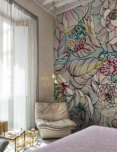 Sinfonia www.wallanddeco.com #wallpaper, #wallcovering, #cartedaparati