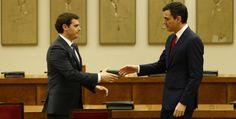 Rivera confía en que el PSOE negocie con el PP las condiciones de su abstención