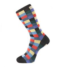 Check Black Sock - Fortis Green's The 'Rennison'