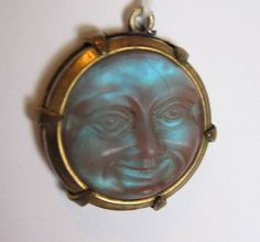 Saphiret Man in the Moon very rare wonderful Edwardian