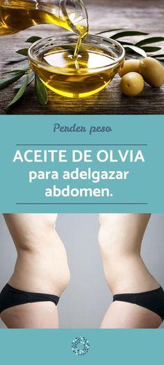 ACEITE DE OLIVA para adelgazar abdomen - ¡vientre plano! #adelgazarconsalud #vientreplano #onsalus #tipsdebelleza #perderpeso