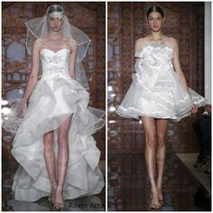 Novias: vestidos cortos