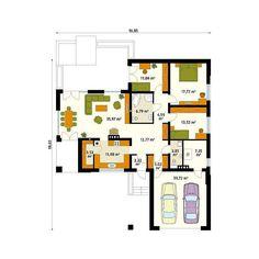 Proiecte de case cu 3 dormitoare. Trei modele fermecatoare - Case practice
