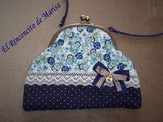 EL RINCONCITO DE MARISA: Mi primer bolso con boquilla y premios