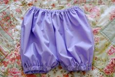 DIY sew your own bloomers