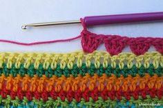 Teil 7 Reihe 5 crochet along - schoenstricken.de