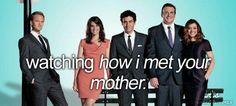 watching how i met your mother