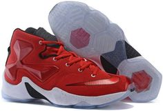 sports shoes 619a5 69cdf Lebron 13 Womens Red White Black Kids Jordans, Cheap Jordans, Basketball  Sneakers, Sneakers