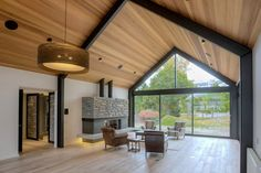 House, Barn style house, Listing house, Building a Steel Frame House, Steel House, Modern Barn House, Modern House Design, Casas Containers, Shed Homes, Interior Architecture, Building A House, House Plans