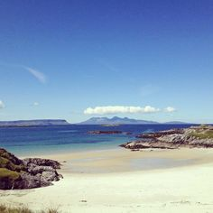 Camusdarach beach, Scotland ... Paradise !!