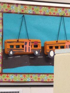 1000 images about autobus on pinterest school buses - Plafond pour toucher la rentree scolaire ...