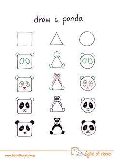 Met deze voorbeelden hebben jij en je kind zo een koe, vogel of leeuw op papier staan. Kies maar uit!