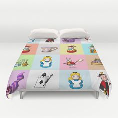 Alice in wonderland Duvet Cover / Alice in by geekandhappy on Etsy