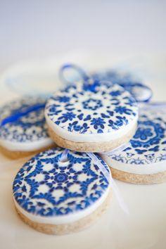Cookies azuis