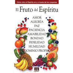 El Fruto del Espiritu, Colección Temas de Fe, tipo folleto plegable
