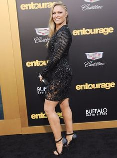 Ronda Rousey at the Los Angeles premiere of Warner Bros. Pictures Entourage held at Regency Village Theatre in Westwood California on June 1 2015 Ronda Rousey Pics, Ronda Rousey Hot, Ronda Jean Rousey, Ufc, Rhonda Rousy, Rowdy Ronda, Charlotte Flair, Charlotte Wwe, Wwe Girls