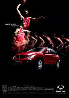 Prensa para la marca de coches SsangYong.