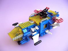 I had this one #LEGO #neo #classic #space...my son has it now