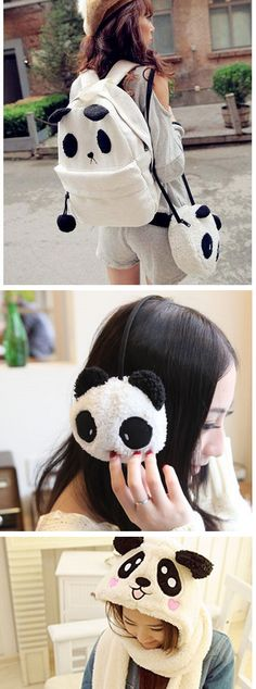 Awww... who doesn't love pandas? Amazing and cute products starring panda!