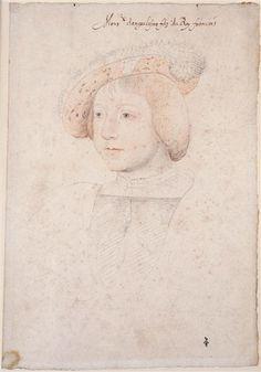 Charles de France ((1523-1545), fils de François Ier, duc d'Orléans .... c. 1535 ... Clouet Jean (1475/1485-1540)