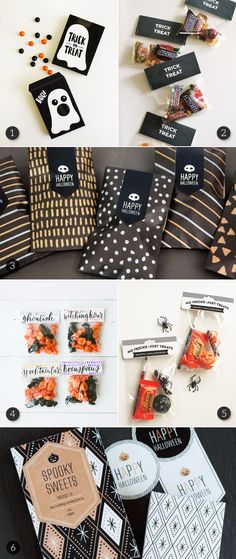 Last Minute Printable Halloween Treat Bags