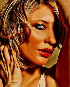 "Saatchi Art Artist ACQUAeLUNA Art; Painting, ""41-Cate Blanchett XLI."" #art Cate Blanchett, Art Images, Saatchi Art, Original Paintings, Art Gallery, The Originals, Artwork, Beauty, Cinema"
