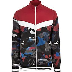 Update your wardrobe with our spring/summer men's coats and jackets. From bombers to denim jackets, smart blazers and lightweight coats, shop them all here. Mens Raincoat, Men's Coats And Jackets, Mens Sale, Camo Print, New Outfits, Motorcycle Jacket, Track, Mens Fashion, Red
